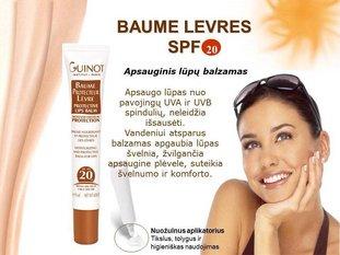 Guinot lūpų balzamas SPF20 15ml.