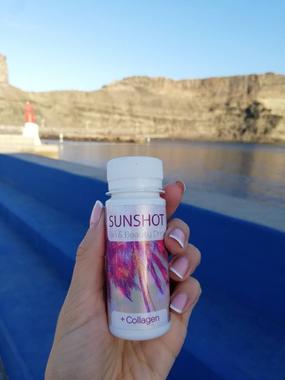 Sunshot+Collagen įdegio aktyvatorius 60 ml. 24 vnt. (dėžutė)