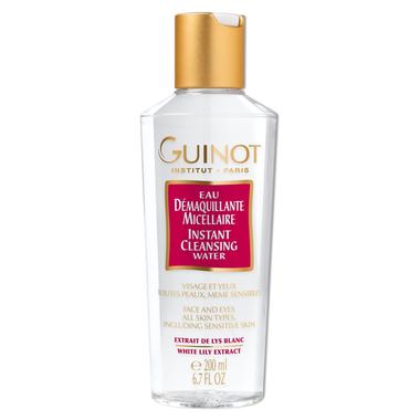 Guinot veido ir makiažo valomasis vanduo 200 ml.