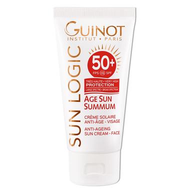 Age Sun priešraukšlinis kremas nuo saulės veidui SPF50+