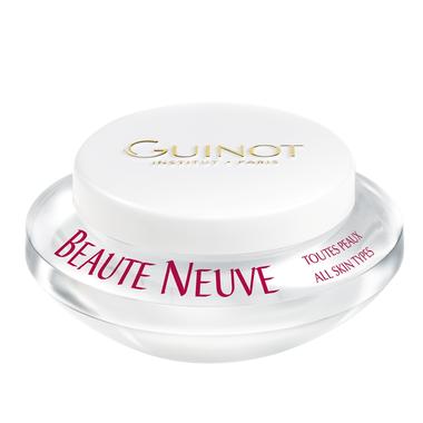 Guinot skaistinamasis kremas skirtas papilkėjusios odos atgaivinimui 50 ml.