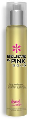 Soliariumo kremas Believe In Pink GOLD 300ml