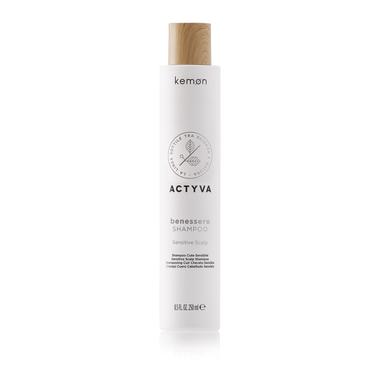 KEMON Benessere Shampoo / Šampūnas jautriai galvos odai 250 ml.
