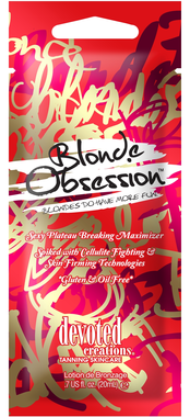 "Soliariumo kremas ""Blonde Obsession"" 15ml"
