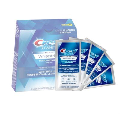 Crest dantų balinimo juostelės 3D White Professional Effects 5 vnt.