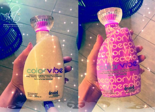 Soliariumo kremas Color Vibe 400ml