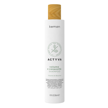 KEMON Volume e Corposita Shampoo / Tvirtumo ir apimties suteikiantis plaukų šampūnas 250 ml.