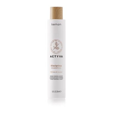 KEMON Disciplina Shampoo / Šilko švelnumo suteikiantis šampūnas 250 ml.