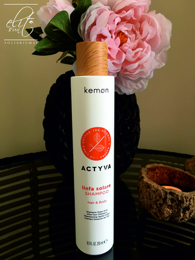 KEMON Linfa Solare Shampoo / Drėkinamasis šampūnas plaukams ir kūnui 250 ml.