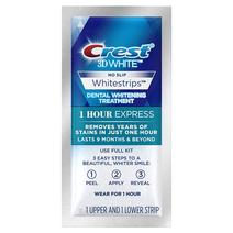 Crest dantų balinimo juostelės 1-HOUR EXPRESS
