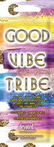 "Soliariumo kremas ""GOOD VIBE TRIBE"" 15ml"