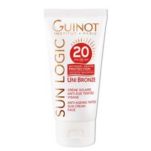 Guinot Priešraukšlinis kremas su spalva veidui SPF 20 / UNI Bronze SPF20 Tinted Face Cream 50 ml.