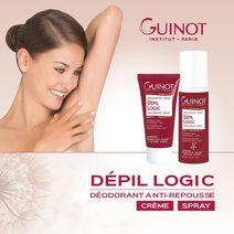 GUINOT Plaukelių augimą lėtinantis purškiamas dezodorantas / Deo Depil Logic Spray 50 ml.