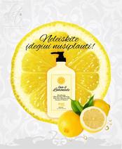 Kremas po soliariumo Love and Lemonade 550 ml