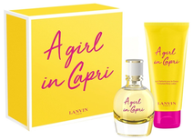 A girl in Capri 50ml edt+100ml perfumed body lotion