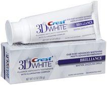 Crest dantų balinimo pasta 3D BRILLIANCE 116g.