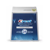 Crest dantų balinimo juostelės 3D White FlexFit (Supreme Bright) 21 vnt.