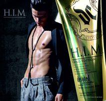 Soliariumo kremas H.I.M Gold Edition 270 ml