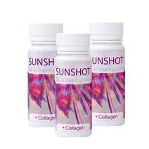 Sunshot+Collagen įdegio aktyvatorius 60 ml. 3 vnt.