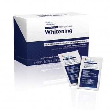 Crest dantų balinimo juostelės 3D White Supreme